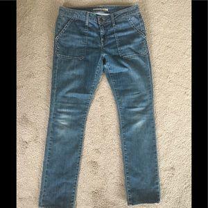 Vince Hollie slim straight jeans, size 29